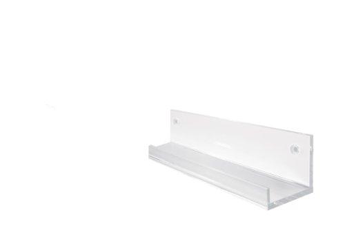 Sigel GA111 Galerieboard gallery / Regal- bzw. Ablageboard, 50 cm, Acrylleiste, transparent (glasklar) – weitere Größe auswählbar
