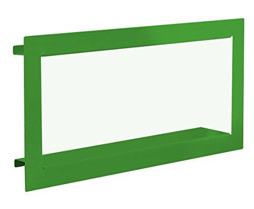 Element System Wandregal Frame / Regalwürfel / Wandwürfel / grün / 290 x 620 x 90 mm / 3 Größen / 3 Farben, 11338-00021