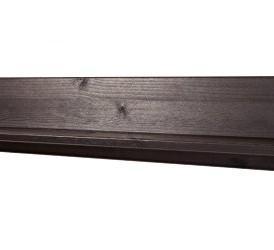 LifeStyleDesign 3000125 Wandboard Ella, 15 x 15 x 90 cm, kiefer, havana