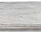 Robas Lund FW608T01 Opus Wandboard, Kiefer weiß / white sanded, 1 Boden, circa 116 x 24 x 22 cm